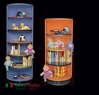 Книжный шкаф Cilindri