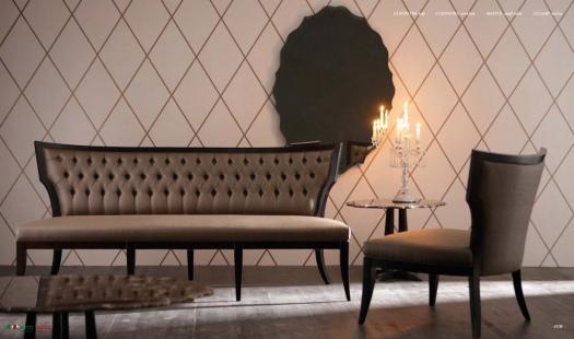 Диван и кресло Cleopatra