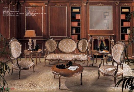 Диван и кресла Della Casa