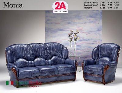 Диван и кресло Monia