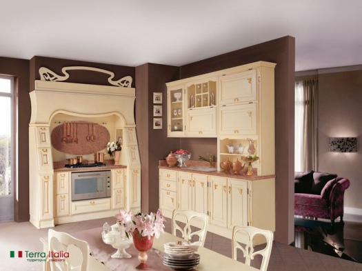 Кухня Rubino lacquered