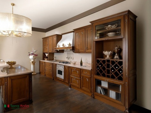 Кухня Rubino walnut