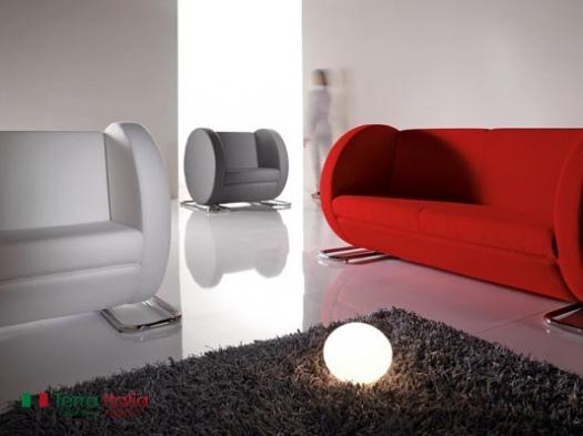 Диван и кресло Tube