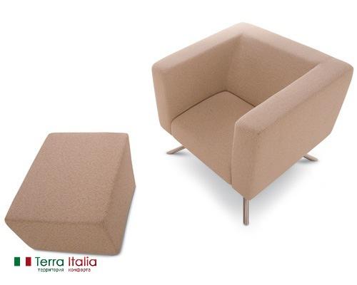 Кресло и пуф Ubo