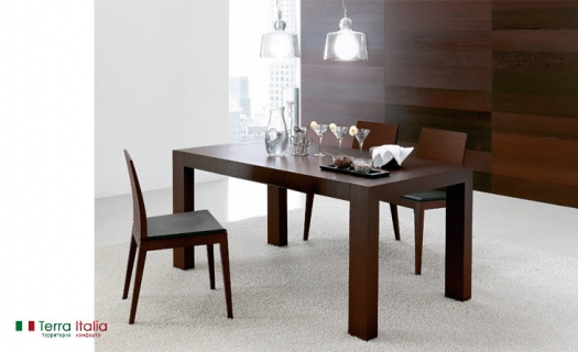Стол и стулья Doppio