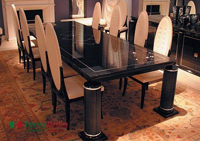 Стол и стулья Rome 1